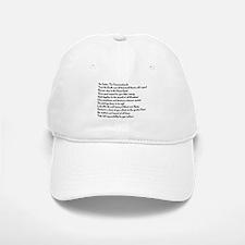 10 Commandments Baseball Baseball Cap