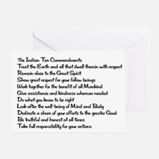 10 Commandments Greeting Card