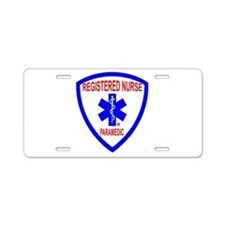 Unique Rn Aluminum License Plate