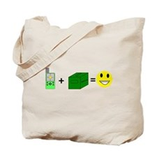 Happy Caching Tote Bag