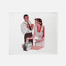 Hey Toast Throw Blanket