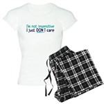 I'm not insensitive Women's Light Pajamas