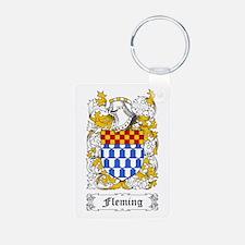 Fleming Aluminum Photo Keychain