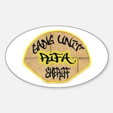 Sheriff Gang Unit Decal