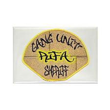 Sheriff Gang Unit Rectangle Magnet