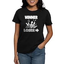 Funny Bowling Winner Loser Tee