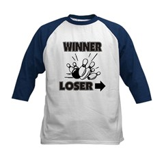 Kids Baseball Jersey Navy/White