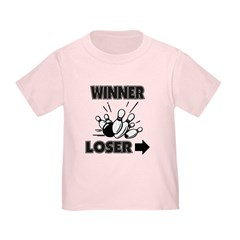 Funny Bowling Winner Loser T