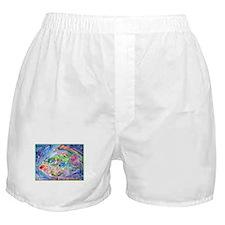 Fish, Colorful, Boxer Shorts