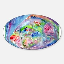 Fish, Colorful, Decal