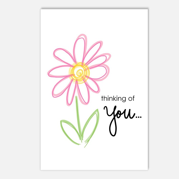 Thinking of You Postcards (Package of 8)