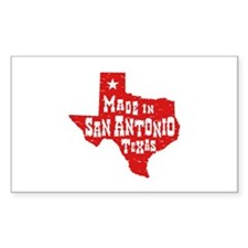 Made In San Antonio Texas Decal