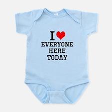 I Love Infant Bodysuit
