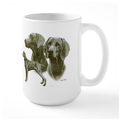 Weimaraner Large Mug