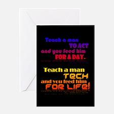 Teach Tech For Life! Greeting Card