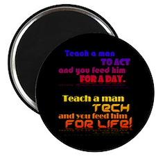 "Teach Tech For Life! 2.25"" Magnet (100 pack)"