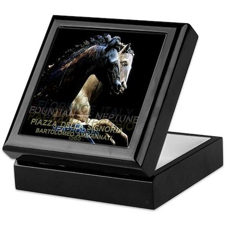 Horses of Florence Italy Keepsake Box