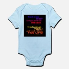 Teach Tech For Life! Infant Bodysuit