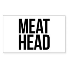 Meat Head Decal