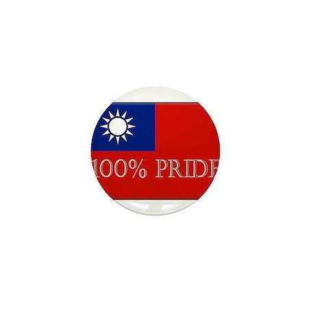 100% PRIDE Mini Button (10 pack)