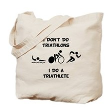 Do Triathlete Tote Bag