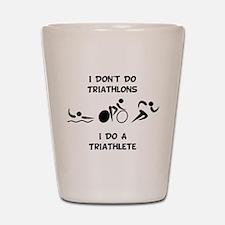 Do Triathlete Shot Glass