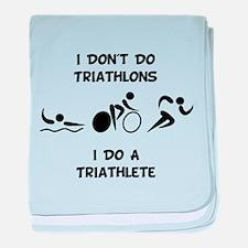 Do Triathlete baby blanket