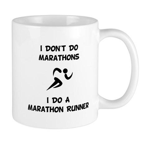 Do A Marathon Runner Mug