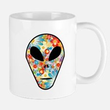 Alien Flower Head Mug