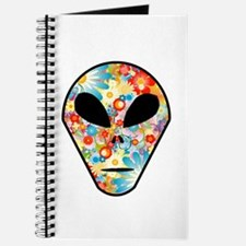 Alien Flower Head Journal
