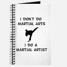 Do A Martial Artist Journal