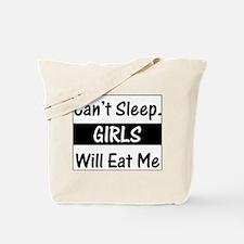 Girls Will Eat Me Tote Bag