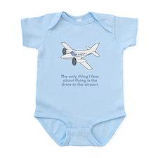 Airplane Fear Infant Bodysuit