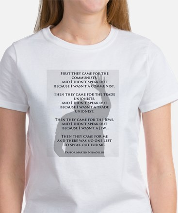 Who will speak Women's T-Shirt