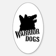 Warrior Dogs Decal