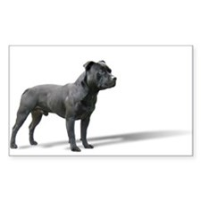 Standing Staffordshire BUll Terrier Decal