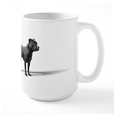 Standing Staffordshire BUll Terrier Mug