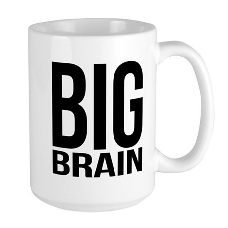 Big Brain Large Mug