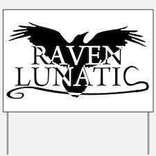 Unique Raven Yard Sign