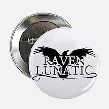 """Cool Raven 2.25"""" Button"""