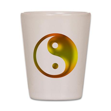 Sunshine Yin Yang Shot Glass