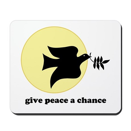Peace Dove Mousepad