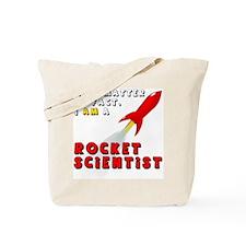 Cute Rocket Tote Bag