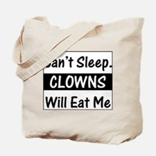 Clowns Will Eat Me Tote Bag