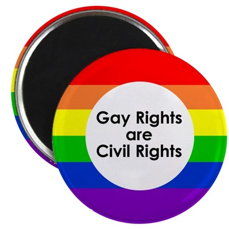 LGBT Rights & Pride Rainbow - Magnet