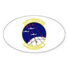 357th Airlift Squadron Oval Decal