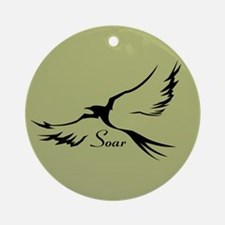 Soar Sage Ornament (Round)
