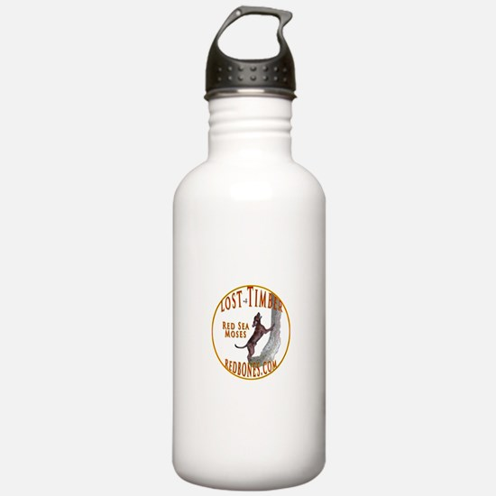 Cute Redbone coonhound Water Bottle
