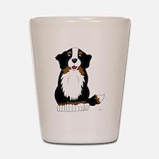 Bernese Mountain Dog Shot Glass