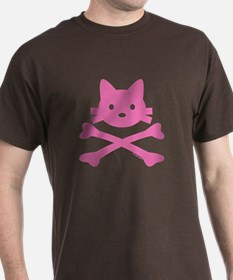 Pirate Kitty Skull T-Shirt